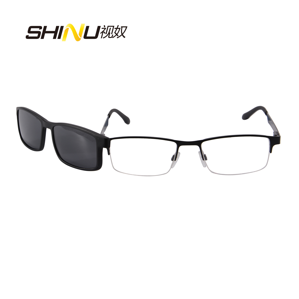 Magnetic Polarized Clip On Sunglasses  online get clip sunglasses prescription glasses aliexpress