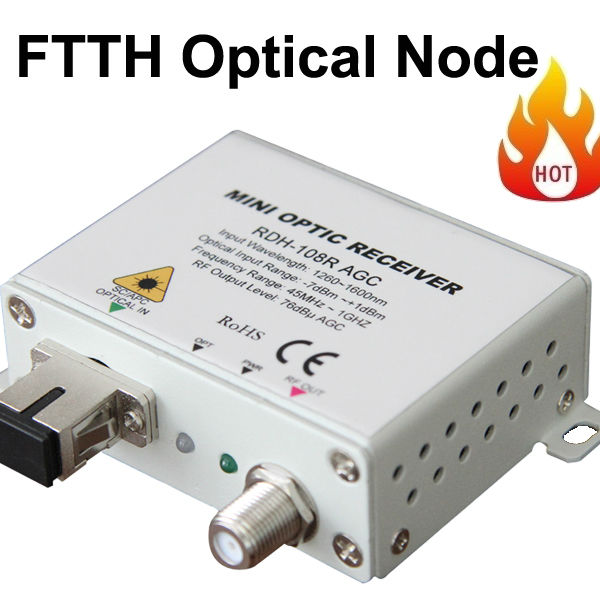 FTTH Fiber Optic CATV Receiver/Mini receiver/mini node(China (Mainland))