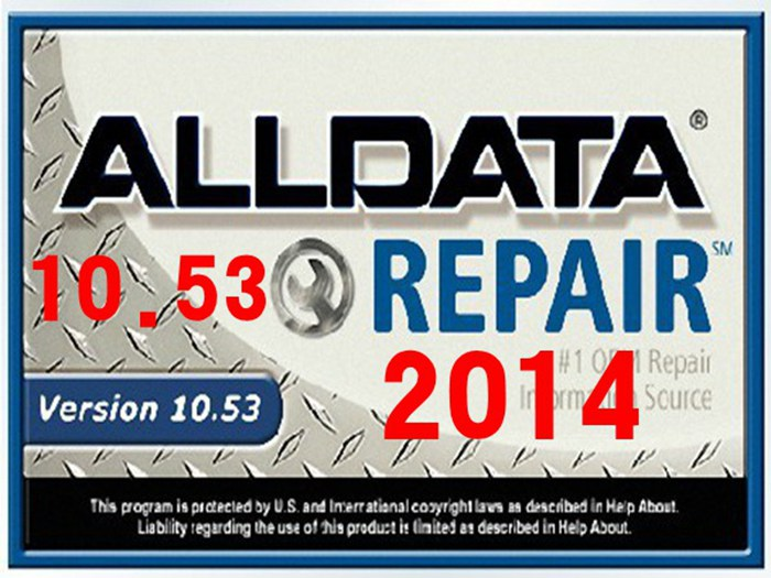 y alldata 10.53 auto repair software