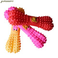 Bone Toys for Dog Embossment Pets Squeaking Toys Chew Resistance to Bite Safety Chew mascotas Squeaker