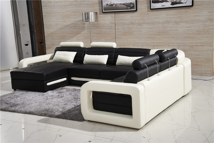 One stop supply sofa furniture, new design sofa set in living room .