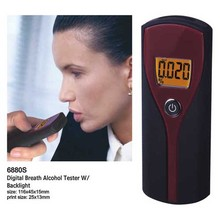6880sFree Shipping/ Personal Digital Display Breathalyzer/alcohol testerr/alcohol breath tester(China (Mainland))