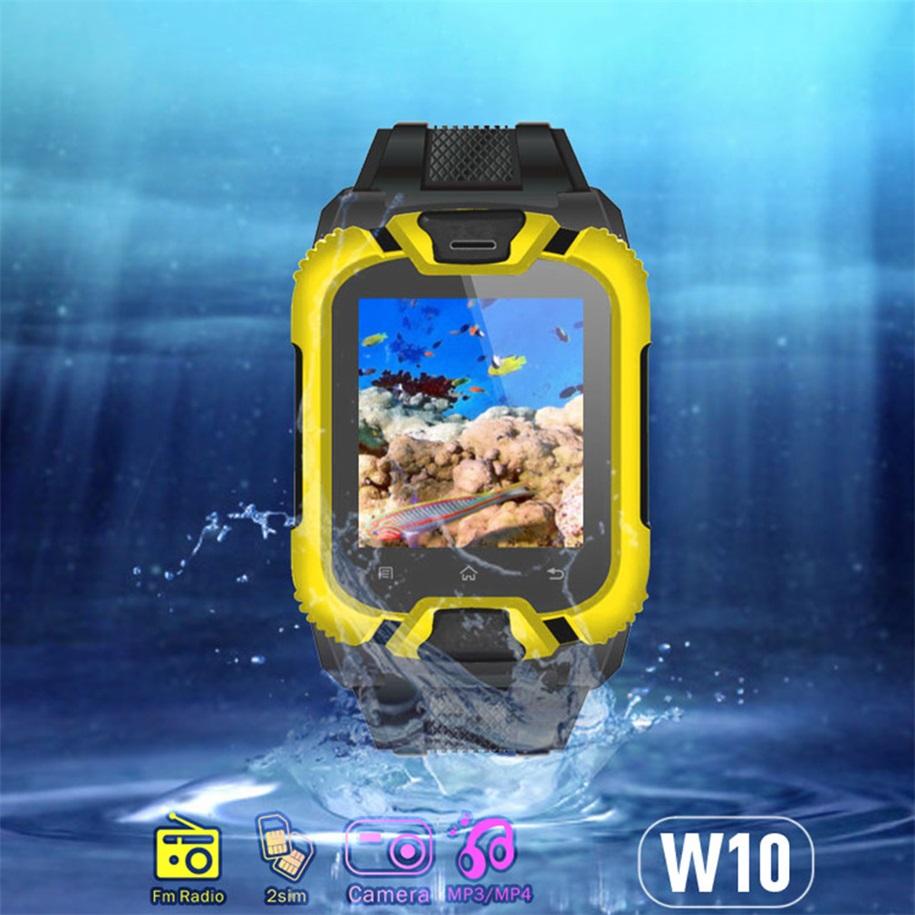 W10 Bluetooth  Screen Smart Wrist Watch with Dual Sim Card new brand<br><br>Aliexpress