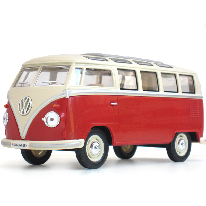 1:24 Alloy volkswagen VW bus Diecast Models Car Toy Collection For Boy Children As Gift brinquedos meninas(China (Mainland))
