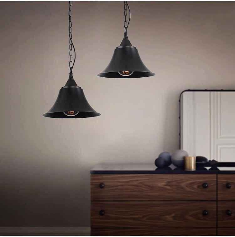Industrial style pendant lighting retro loft edison light for Rustic lantern style light fixtures