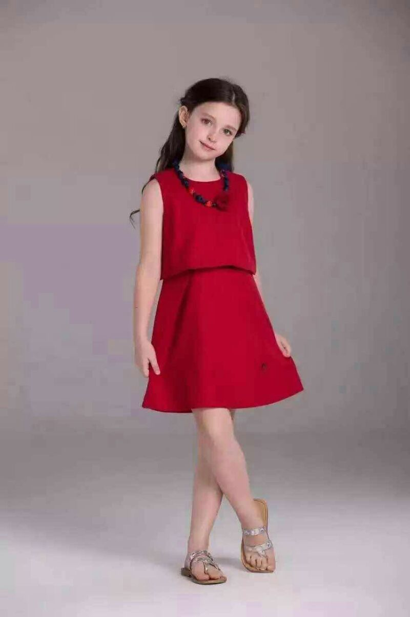 2016 fashion casual personality small fresh girl's fashion style of exquisite pop princess Fan Dress(China (Mainland))