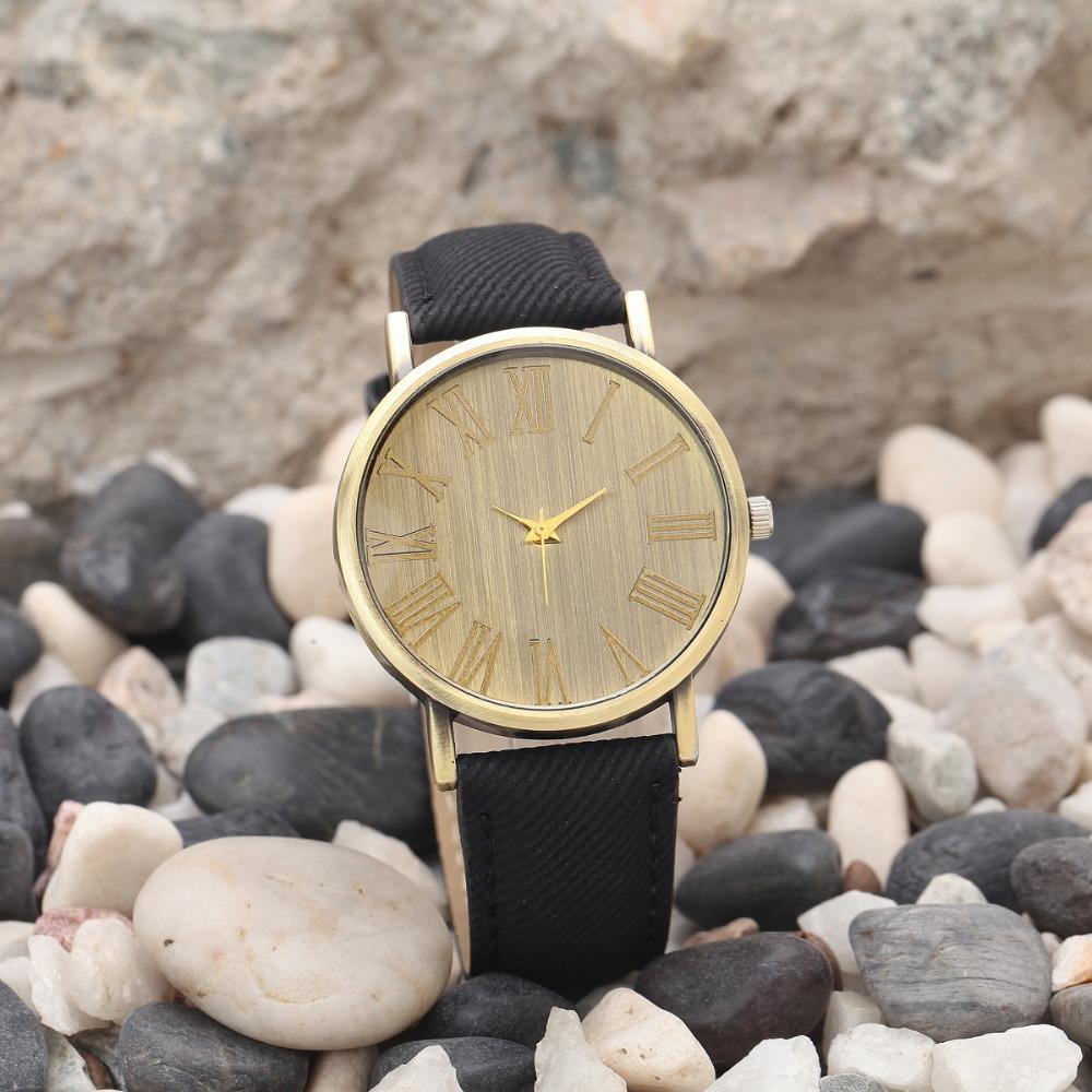 Старинные часы Relojes кварц мужчин часы свободного покроя бронзовый цвет кожаный ремешок часы мужской наручные часы Relogio Masculino