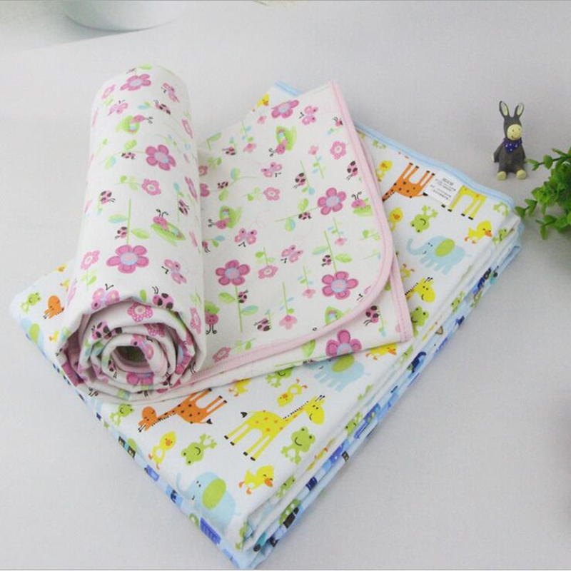 2015 New arrive 11 Patterns  lovely Baby Kids Waterproof Mattress Sheet Protector Bedding Diapering Urine Mat Changing Pads<br><br>Aliexpress
