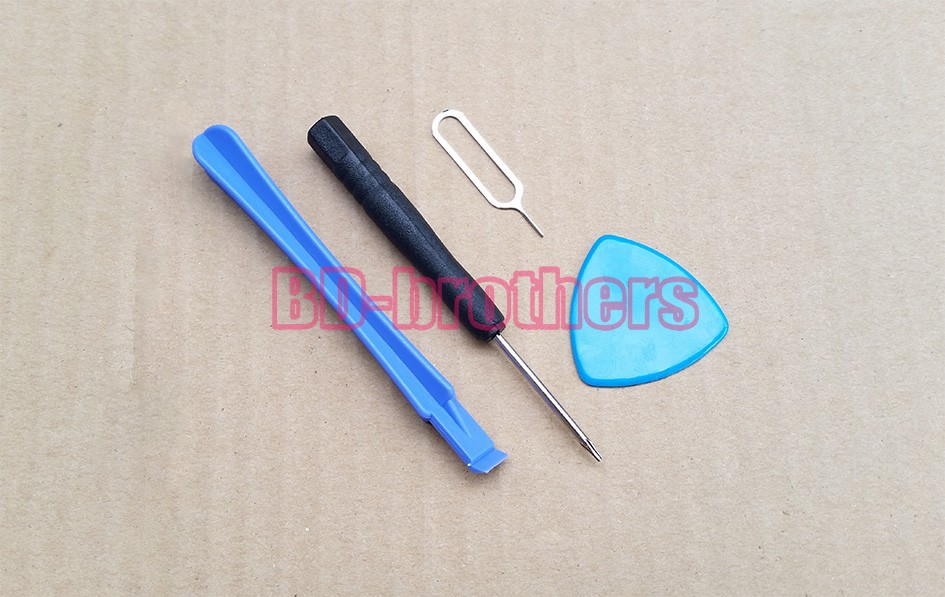 4 in 1 Repair Opening Tools Kit Pry Tool With 0.8 Pentalobe For iPhone 4G 5G 6G 6Plus 1100 Set (4400pcs)<br><br>Aliexpress
