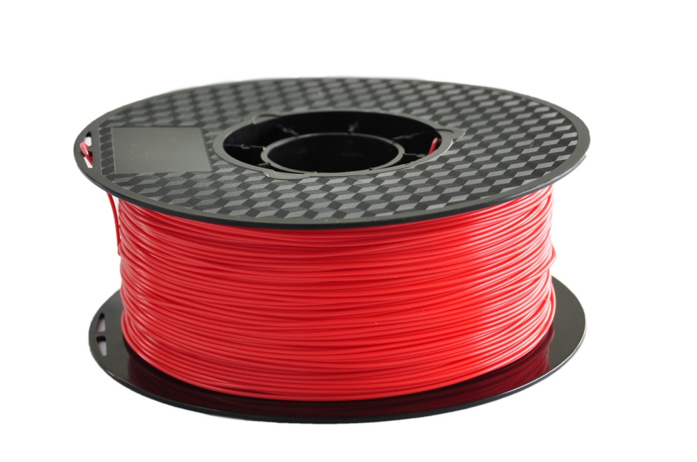 red color 3d printer filament ABS 1 75mm 3mm 1kg MakerBot RepRap UP Mendel plastic Rubber