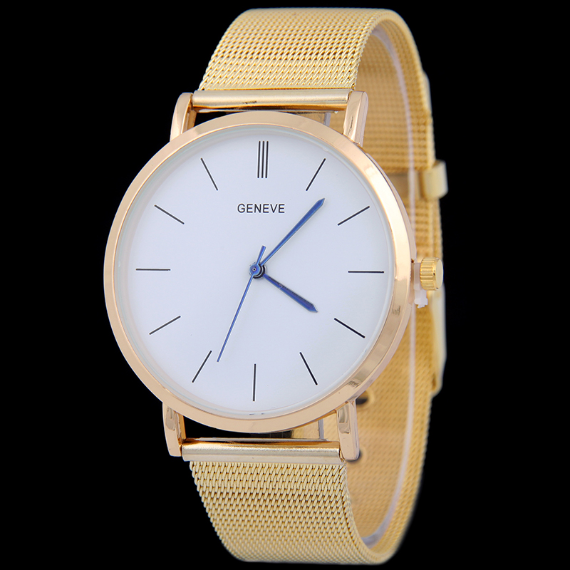Luxury Brand Simple Stainless Steel Watch 2016 Fashion Women Quartz Men Business Casual Wristwatch Relogio Feminino - BXboxue Store store