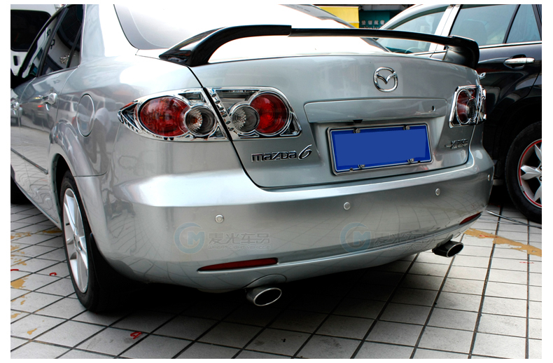 High quality Stainless Steel Muffler Tip End Pipes 1 piece for Mazda 6 M6(China (Mainland))