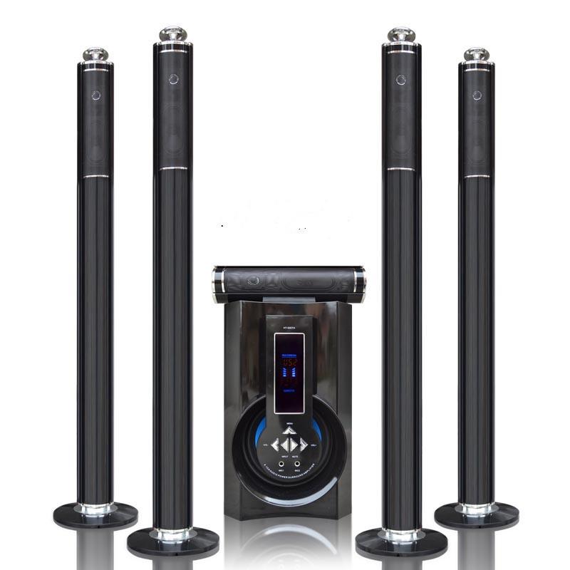 Powerful 5.1 wireless bluetooth speaker Peak power 400W Home Cinema System Subwoofer Computer Speaker 5.1 Channel K Song Speaker(China (Mainland))