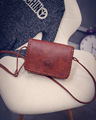 Famous Brand Design Small Square Flap Bag Mini Women Messenger Crossbody bags Sling Shoulder Leather Handbags