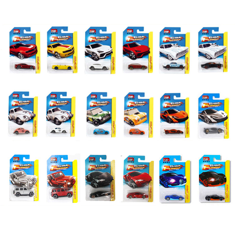 1:64 7CM Fast & Furious Metal Sport Cars Model Toys Kid's Die Casting Auto Free Choice Alloy Pocket Car Toys For Children Gifts(China (Mainland))