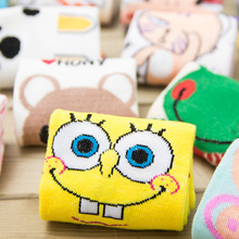 New Arrived Kawaii Cotton Socks Famous Cartoon Characters Socks For male and Female 16 Colors Available