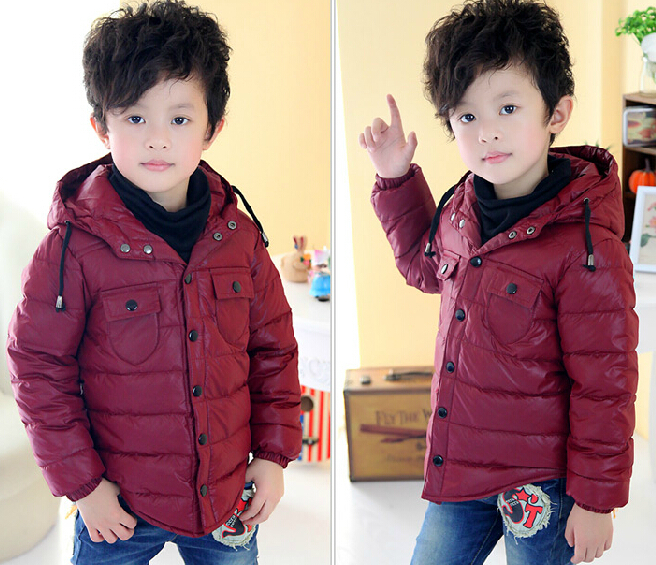 New Sale Winter 2014 Childrens Clothing Child Boys Girls Down Outerwear &amp; Coats Kid Girl Hoodies Coat &amp; Jackets Girls Clothes<br><br>Aliexpress