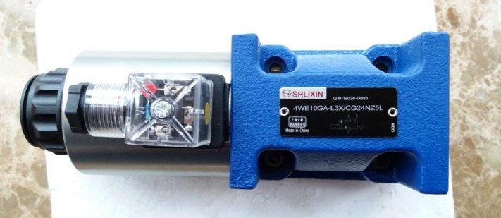 Фотография Shlixin High Pressure Solenoid Valve Directional Valve 4we10ga-L3X/Cg24nz5l Hydraulic Valve