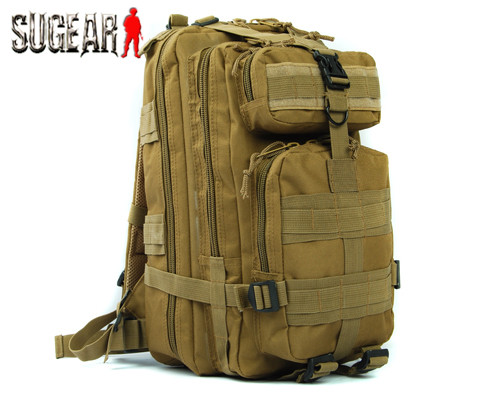 Free shipping Molle Camouflage Tactical 3-Pocket Hydration Assault Backpack Bag/shoulder bag Outdoor Hiking Equipment 9 Color<br><br>Aliexpress