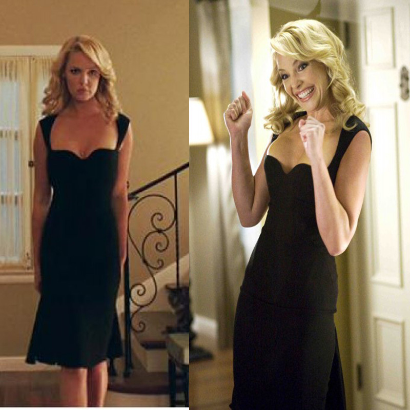 Katherine-Heigl-Black-Sexy-Dress-in-Movie-The-Ugly-Truth ...
