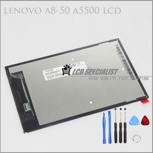 Repair Parts For Lenovo A8-50 A5500 CLAA080WQ05 XN V LCD Display Screen Panel Replacement