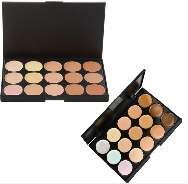 New 2014 Hot Sale Special Professional 15 COLOR Concealer Facial Care Camouflage Makeup Palette(China (Mainland))