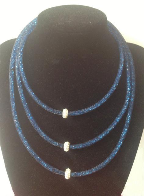 3 слой stardust шамбалы ожерелье женщины ювелирные изделия девочка подарков