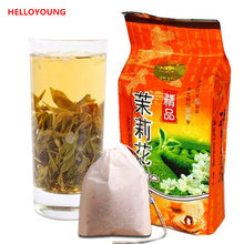 Buy spring Organic Jasmine tea 250g Freshest Organic Food Green Tea flower teas Health Care Weight Loss Free for $7.99 in AliExpress store