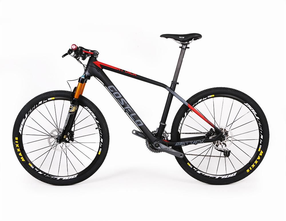 Costelo Attack XC Pro Mountain MTB Bicycle Carbon Frame Torayca UD Carbon Fiber Bicycle Frame 27.5er 650B Carbon Mtb bike