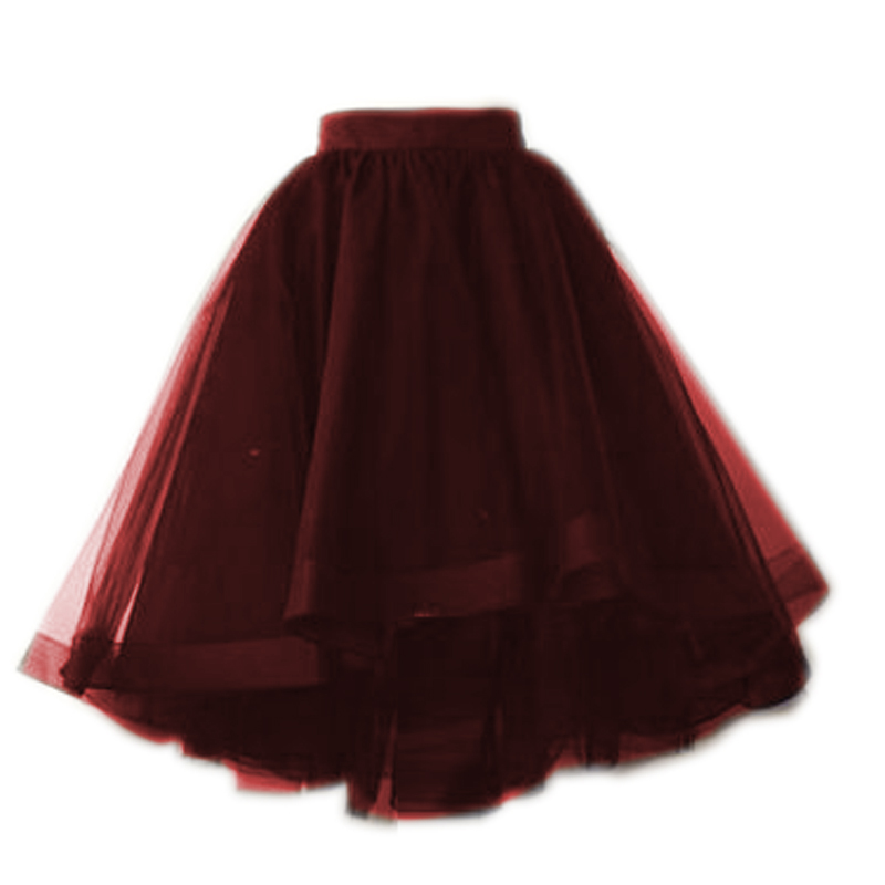 Popular Black Puffy Skirt Buy Cheap Black Puffy Skirt Lots