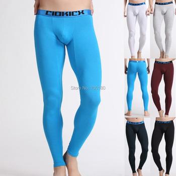 Зима тёплый длинная джон нижнее белье приталенный мужчины в сексуальный длинная нижнее белье 6 цветов тепловой нижнее белье мужчины CL7356