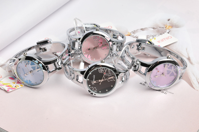 Free shipping famous exclusive korea brand luxury Ladies brand Watch Quartz  jewelry wristwatch stainless steel ban