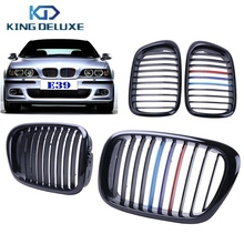 Buy 2x Car Front Kidney Grills Grille Lattice BMW E39 5-Series 525i 528i 530i 535 540i M5 1997-2003 Gloss Black M Colored #P216 for $46.98 in AliExpress store