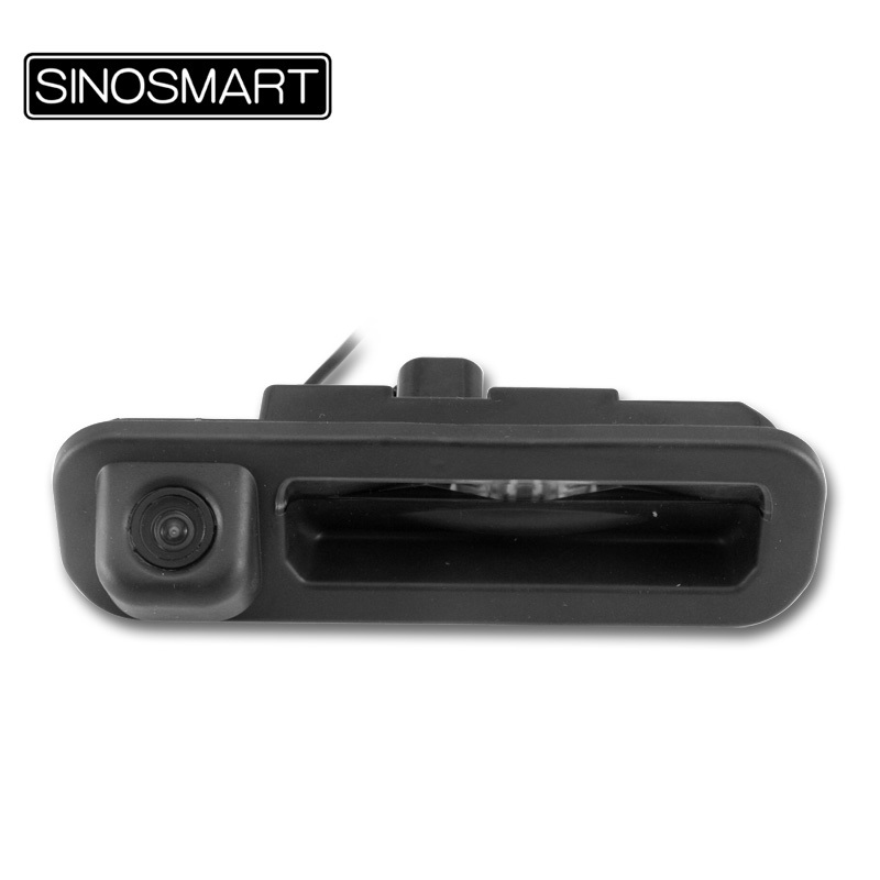SINOSMART In Stock HD Special Car Rearview Parking Reverse Camera for Ford Focus Hatchback Sedan Replace Rear Trunk Handle(Hong Kong)