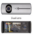 hot sale new 2 7 inch LCD Car Dual Lens DVR Camera Video Recorder Full Hd