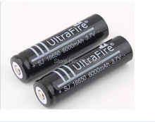 10piece/lot strong light flashlight and Camera Battery 18650 rechargeable Battery Capacity 6000mAh 3.7V li-ion Battery