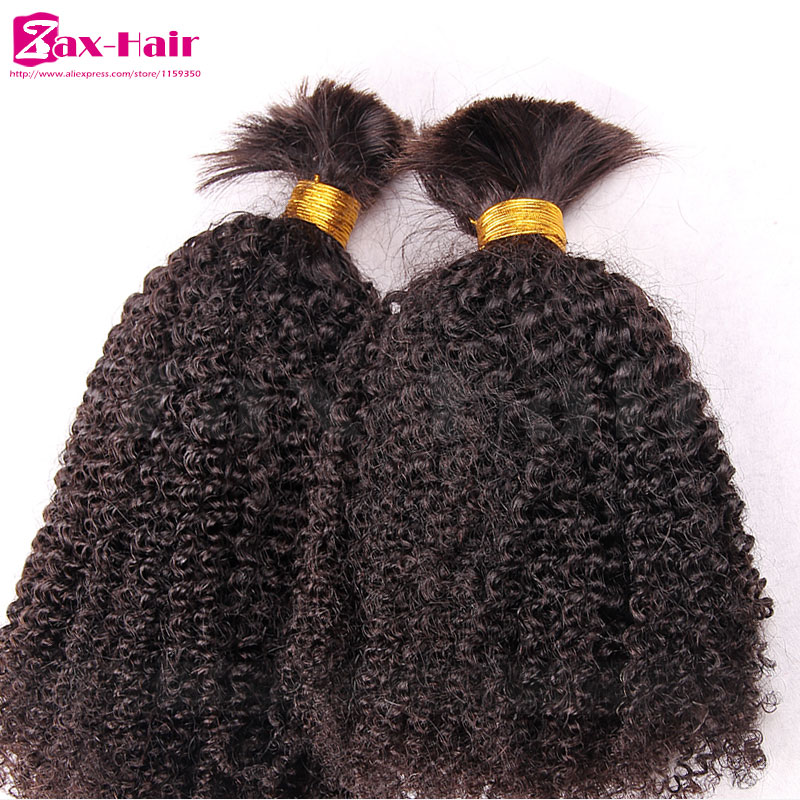 High Quality Bulk Hair For Braiding Discount Fashion Human Hair Extensions Virgin Human Hair Brazilian 100% Unprocessed Grade 7A