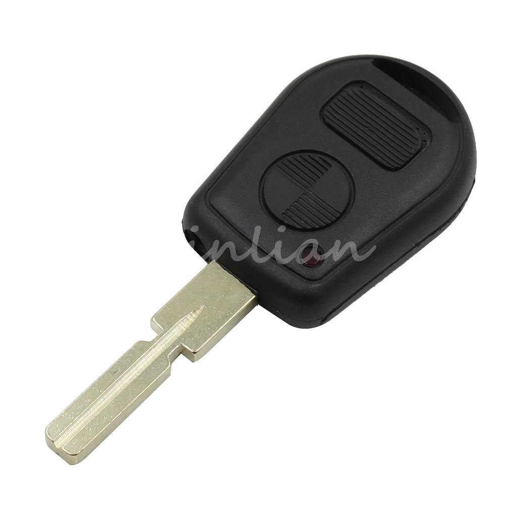 New Remote Fob Case Replacement Car Key Shell 2 Buttons