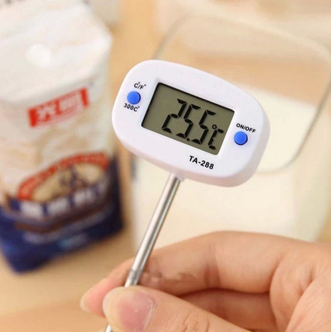 Hot Sale Instant Digital LCD Food BBQ Meat Chocolate Oven Cooking Probe Thermometer TA-288 Kitchen Thermometer Free Shipping(China (Mainland))