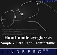 Б титановые Высокое качество мужчины очки рамка оливер народов Lindberg обод Danmark марка королевской семьи использования очки близорукость очки