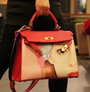 Woman bag designer handbags high quality Beauty diagram brand fashion women messenger bags bolsas femininas clutch office bag<br><br>Aliexpress