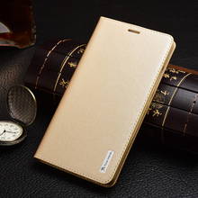 New Arrival Luxury Original Genuine Leather Flip Unique Magnet Design Stand Case Cover For Huawei Ascend Mate 7(China (Mainland))