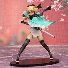 Free Shipping Fate Stay Night anime figure Fate KOHA-ACE Sakura Saber Okita Souji PVC Action Figure Collection Model Doll Toy
