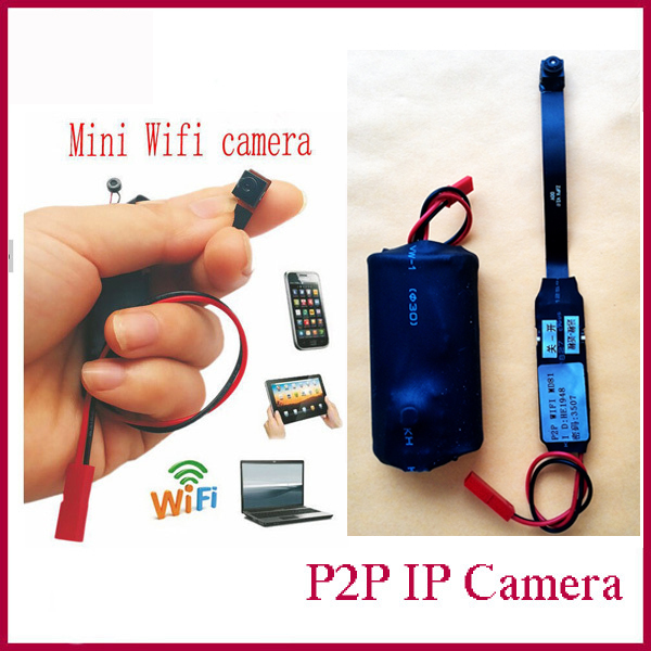Mini Cam Wireless Spy WIFI Camera IP P2P Camcorder CCTV Camera Hidden Full HD Mini covert Video Camera(China (Mainland))