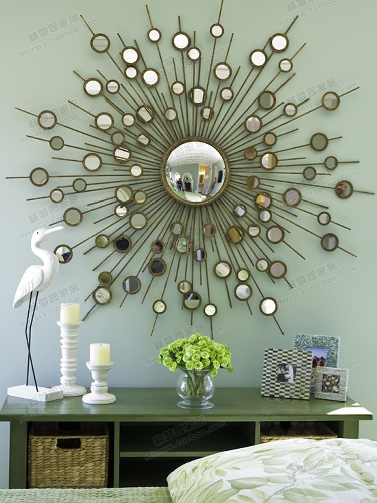 ... mirror decorative wall hanging neoclassical postmodern-in Mirrors from