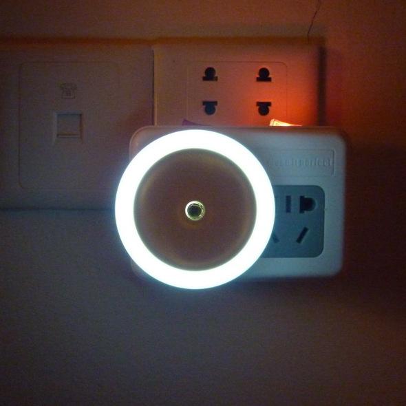 product Baby Led night light sensor light control 110V-220v US EU plug energy saving induction lamp wall lights bedside lamps kids bulb
