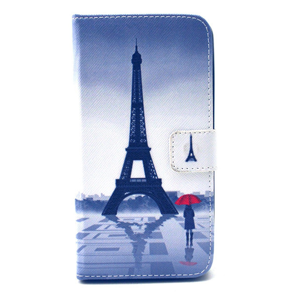 Stylish Pink Plum Magnetic Leather Case Cover Card Slots Stand Flip france wiko lenny phone bags shell  -  3C Electronic Online Store store