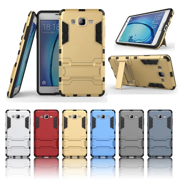 2016 New High Quailty TPU+PC Hard Back Cover Case for Samsung Galaxy On7 Cell Phone Accessories& Stand(China (Mainland))
