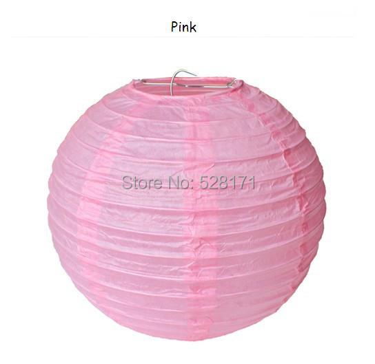 Free shipping 10pcs/lot 10''(25cm) Hot Sale Chinese round paper lantern wedding lantern festival decoration(China (Mainland))
