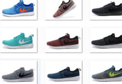 2015 venda Hot top marca roshelies run athletic shoes flyknits homens correndo sapatos baratos à venda tamanho 40-45 comprar agora(China (Mainland))